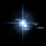 The Pluto-Charon system